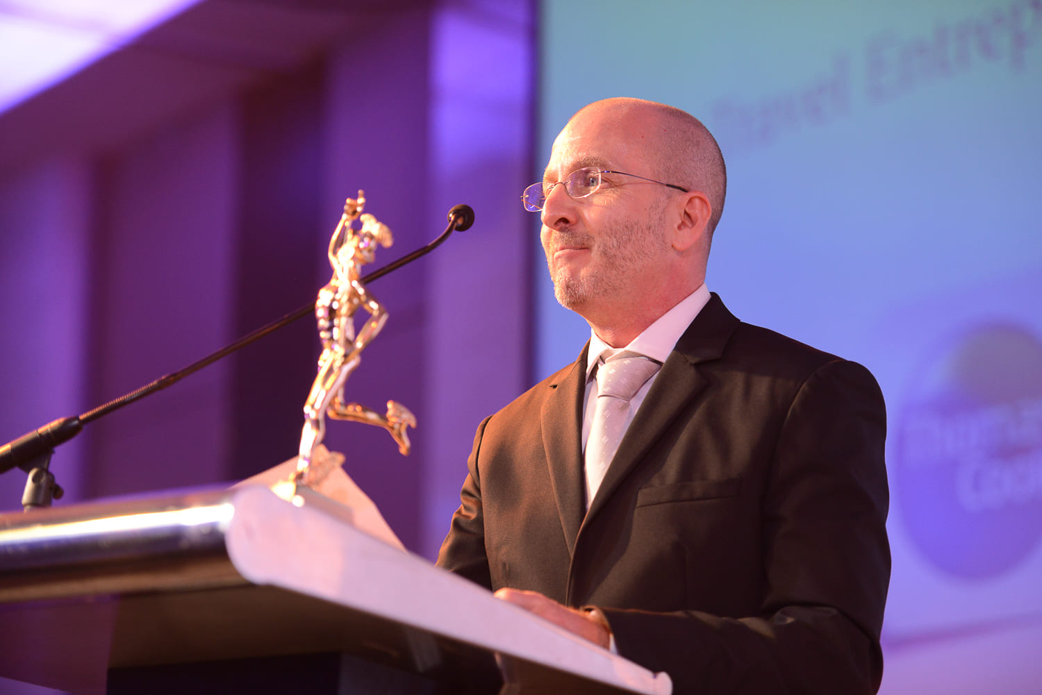 Travel Entrepreneur of the Year: Mr. Laurent Kuenzle, Managing Director of Asian Trails Ltd
