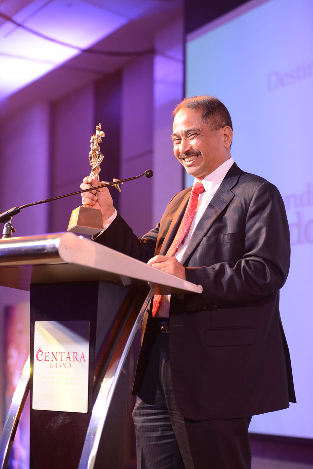 Destination of the Year: Mr. Arief Yahya,  Minister of Tourism, Indonesia